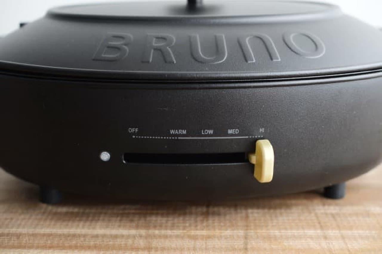 BRUNO(ブルーノ)「crassy+ オーバルホットプレート」