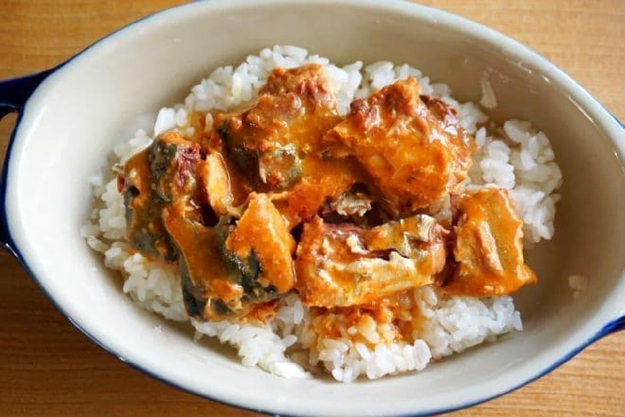 サバ味噌ドリアレシピ