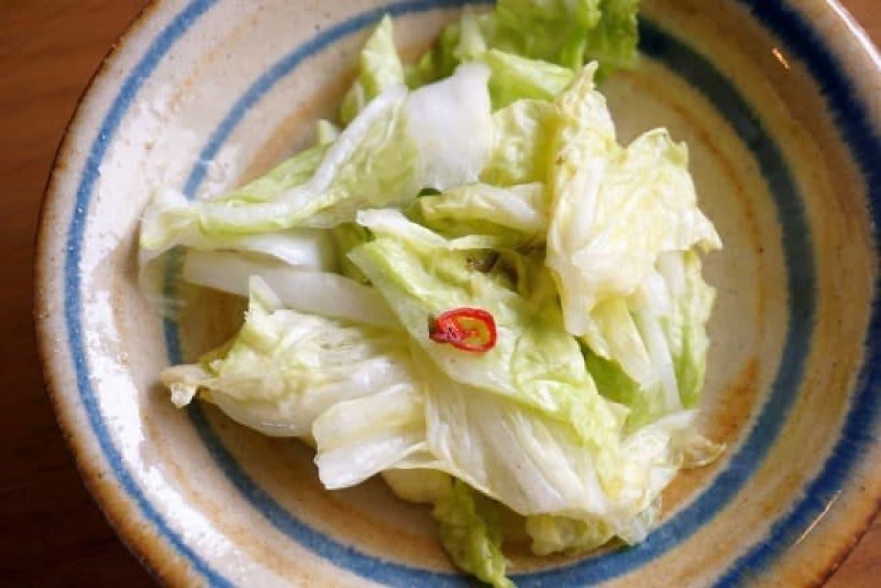 カルディ「瀬戸内産焼塩 あさ漬け塩(芽かぶ入り)」