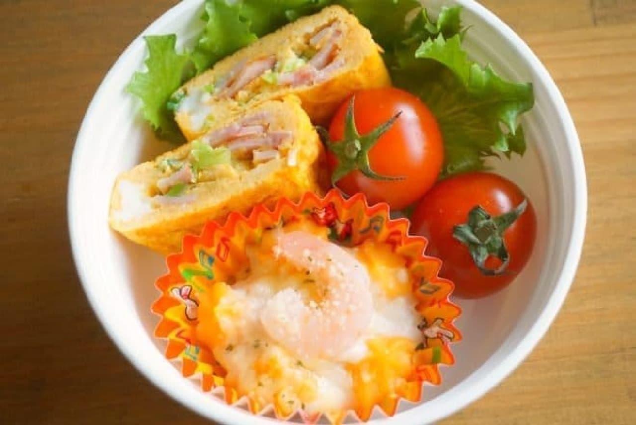 マルハニチロえびとチーズのグラタン
