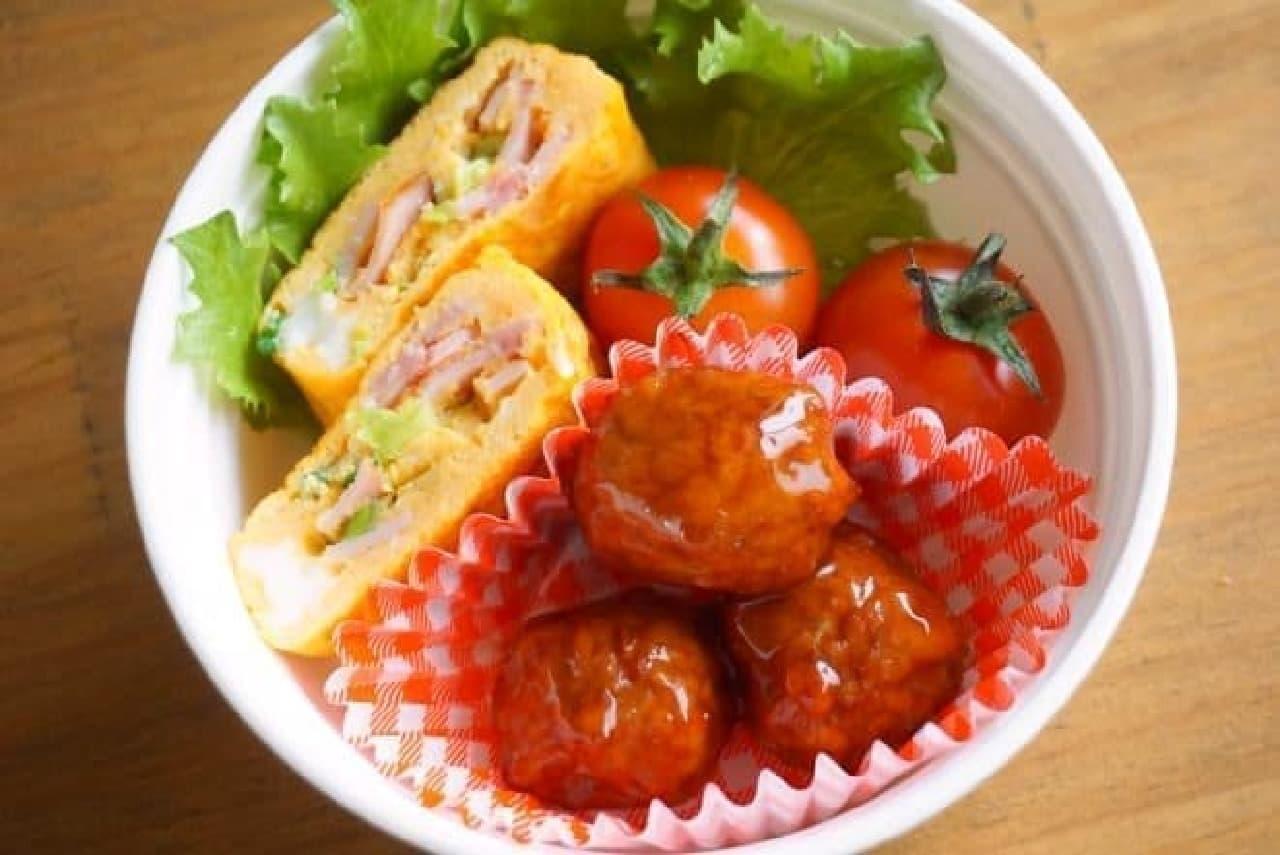 ケイエス 国産肉ミートボール(甘酢あんかけ)