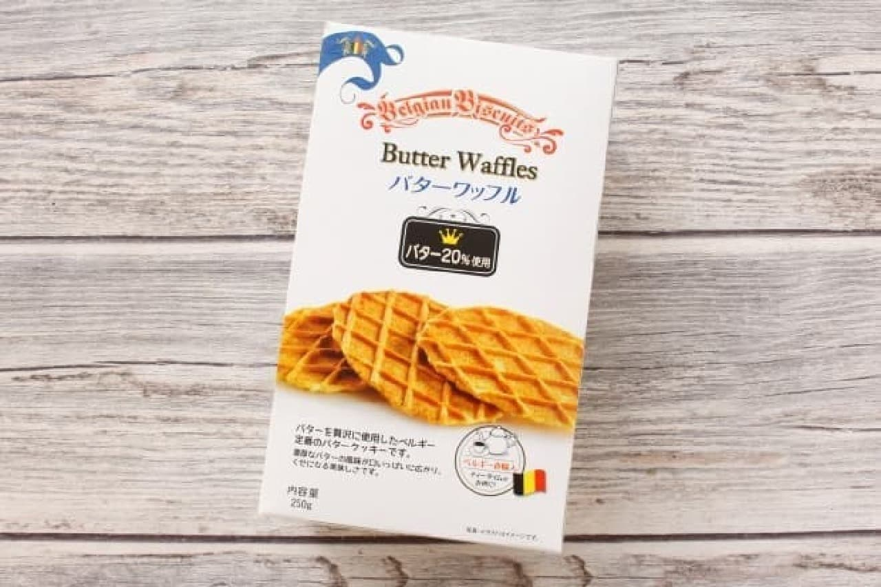 業務スーパーのバターワッフル