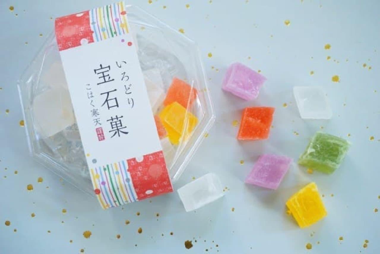 岡伊三郎商店「いろどり宝石菓」