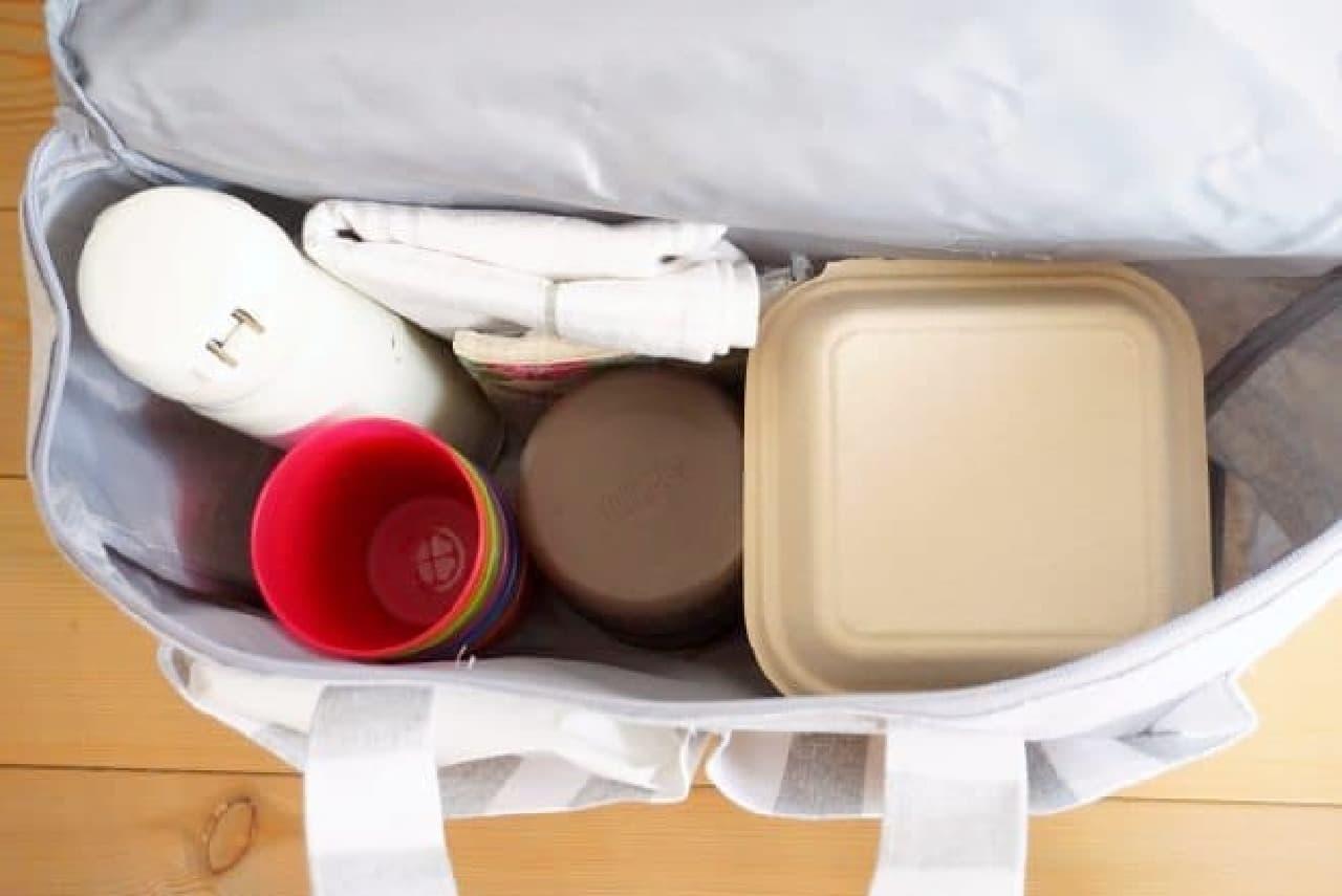 ダイソー「ピクニックバッグ」
