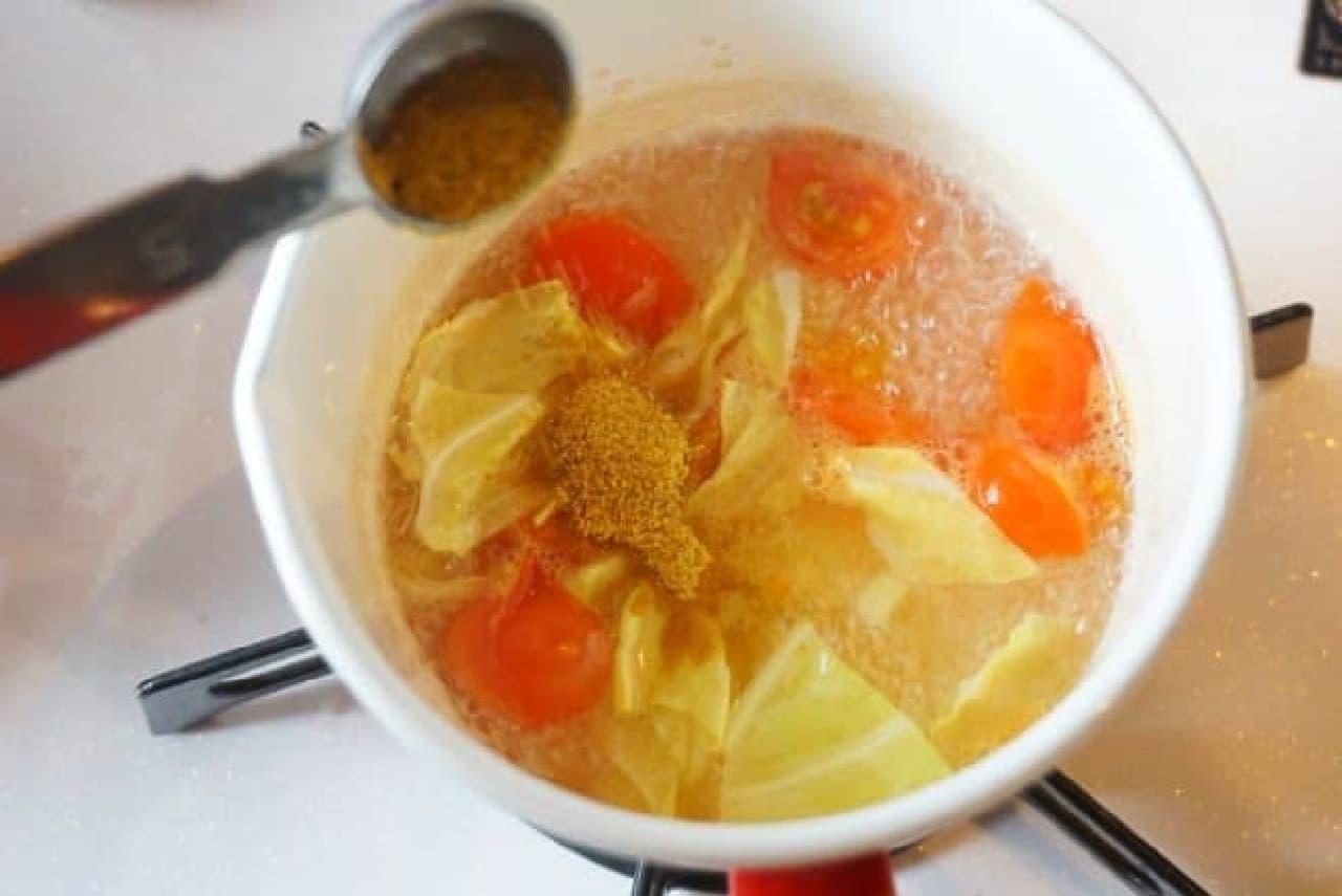 ハウス食品「味付カレーパウダー バーモントカレー味」