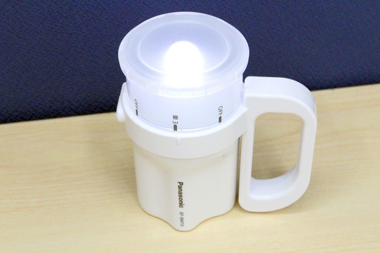 パナソニック「LED電池がどれでもライト」