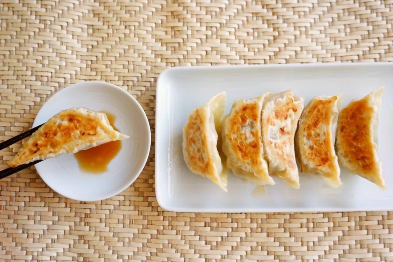 サバ缶餃子のレシピ
