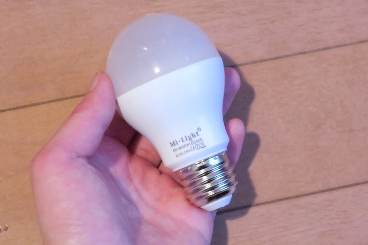 リモコン式電球 Mi Light