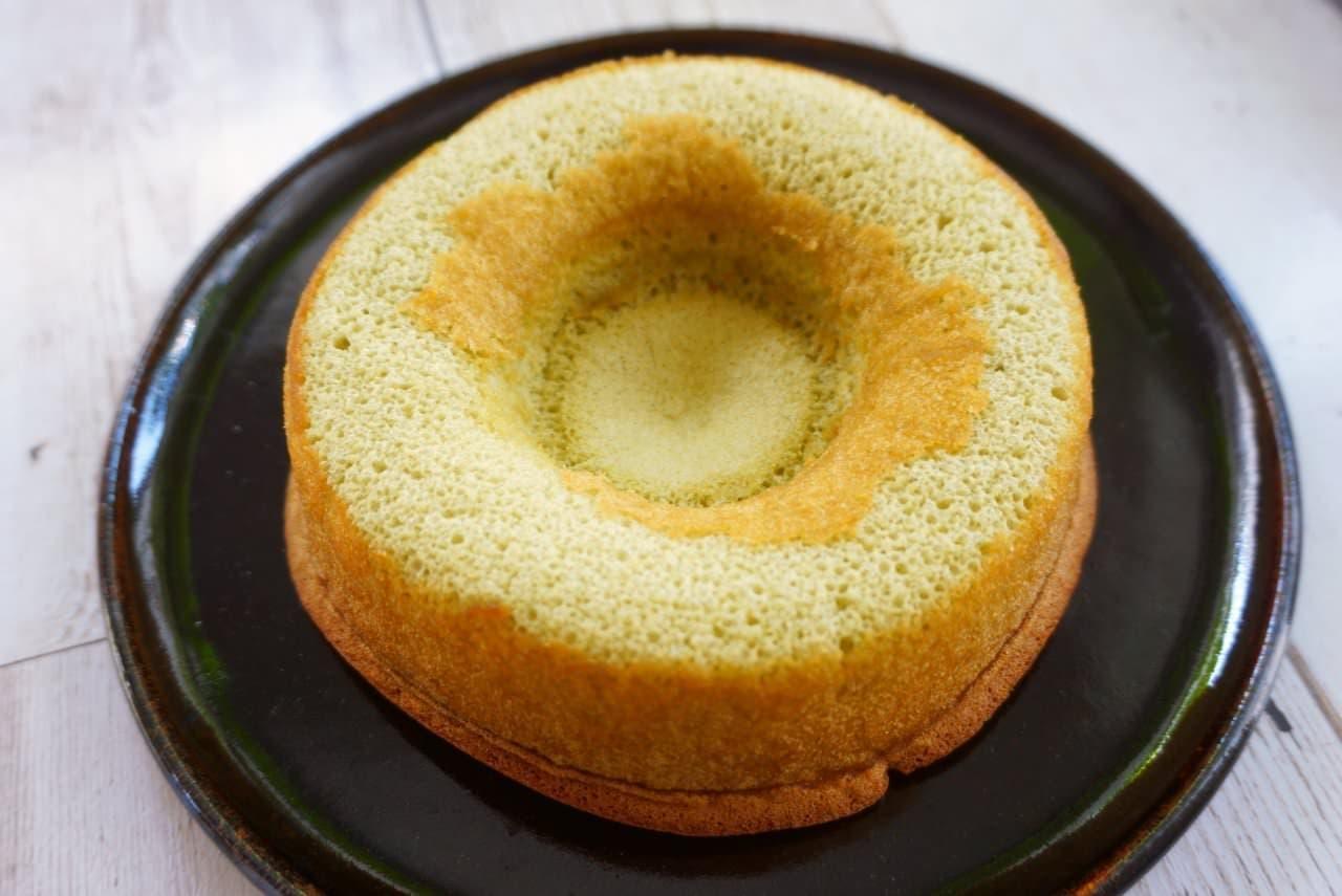 ヤマザキ「やわらか抹茶のシフォンケーキ」