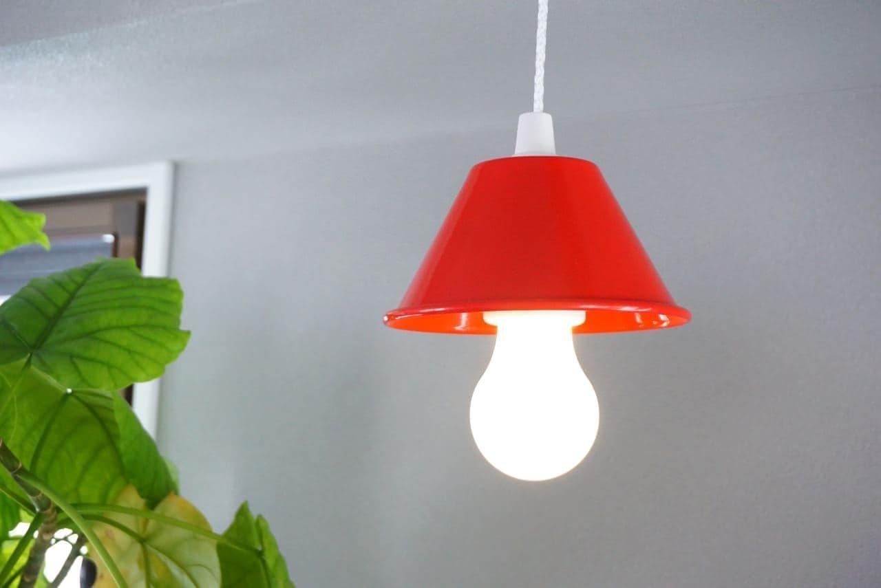 セリアのランプシェードとペンダントライト