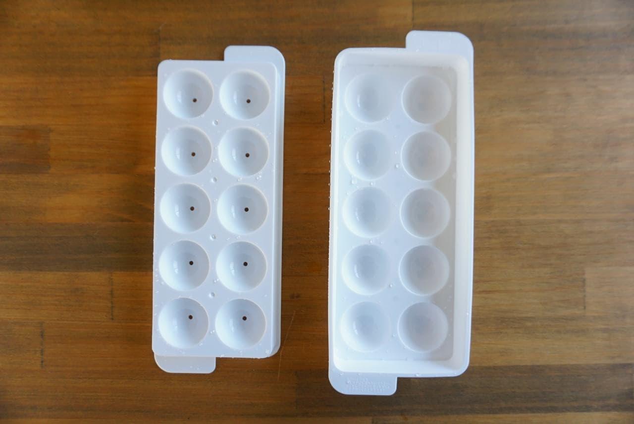 製氷皿で九龍球風ゼリー