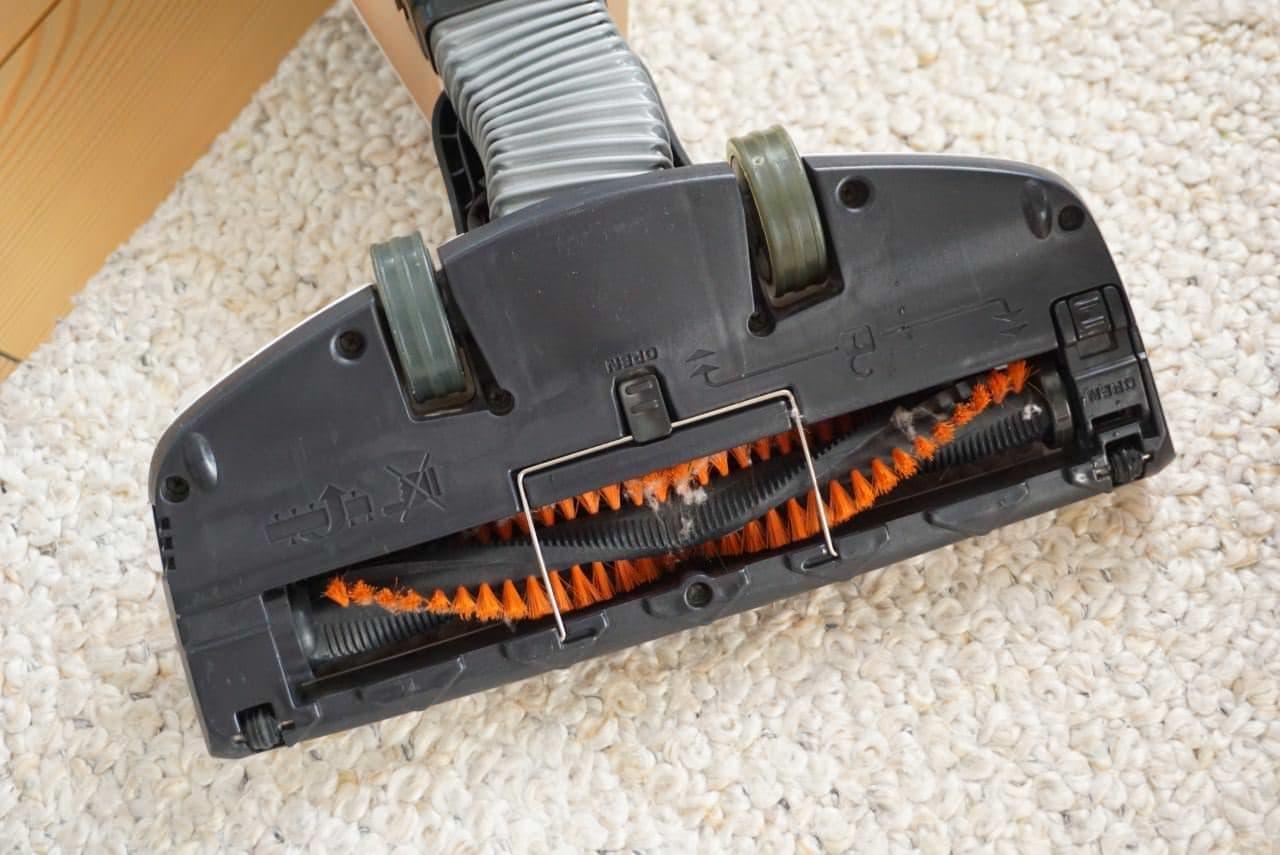 掃除機ヘッド用「クリーナーペット ハリネズミ」