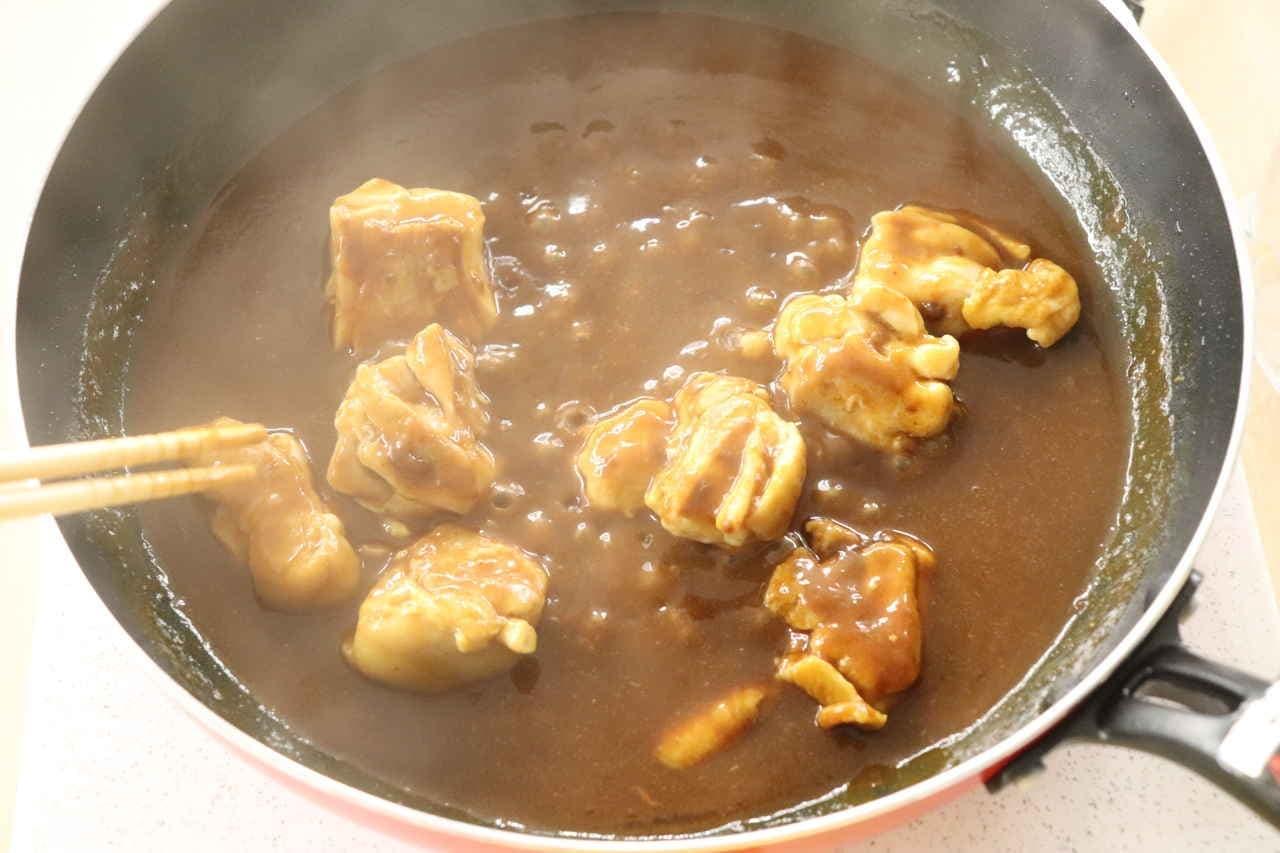 お肉を焼くだけでおいしいカレーの素