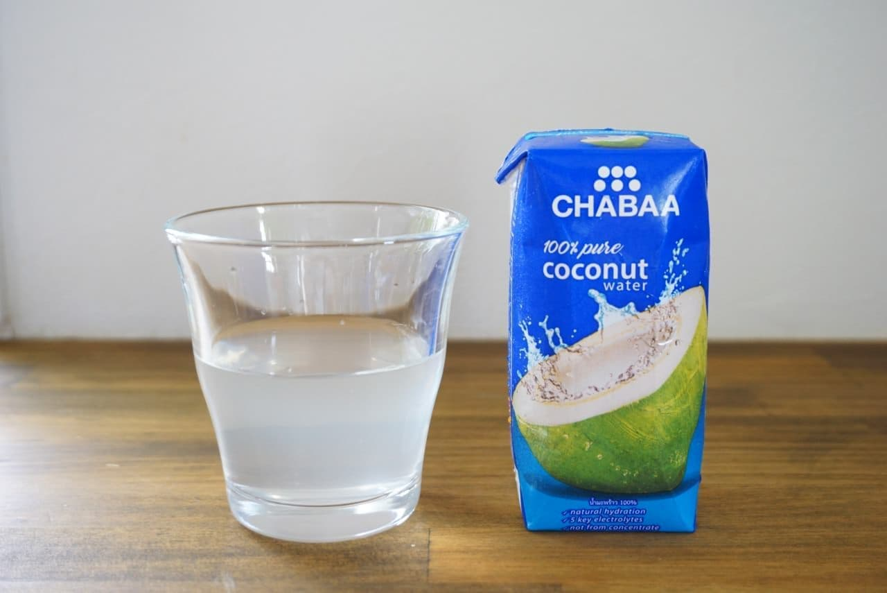 CHABAAココナッツウォーター