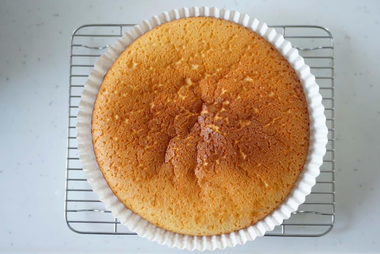 無印良品「自分でつくるベイクドチーズケーキ」