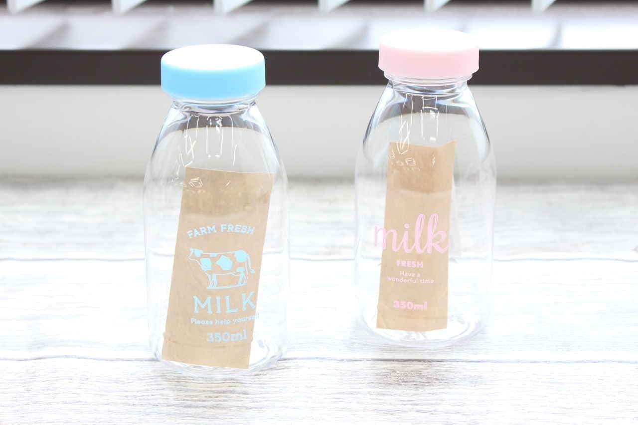 キャンドゥ ミルク瓶型ウォーターボトル