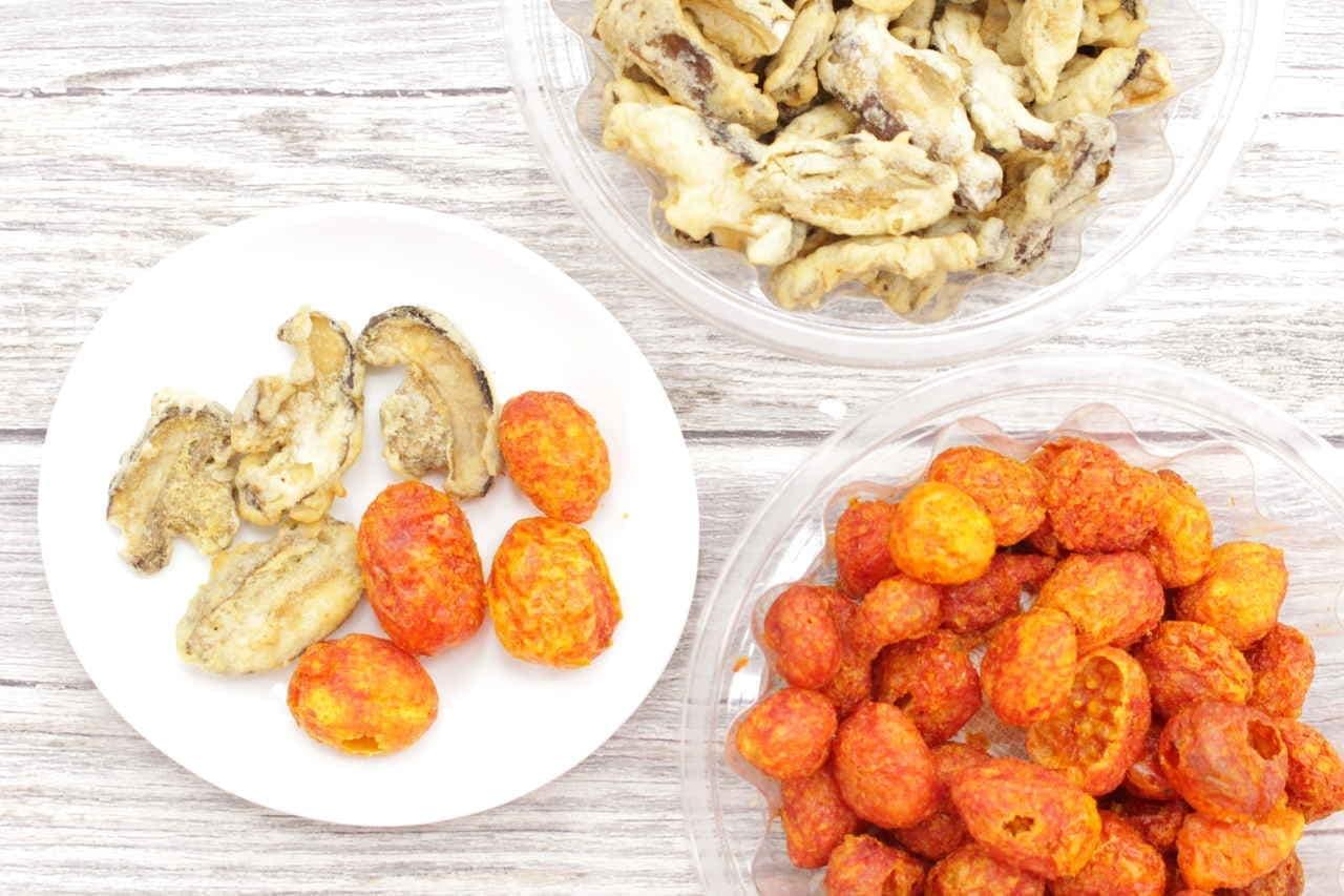成城石井椎茸チップ ミニトマトチップ
