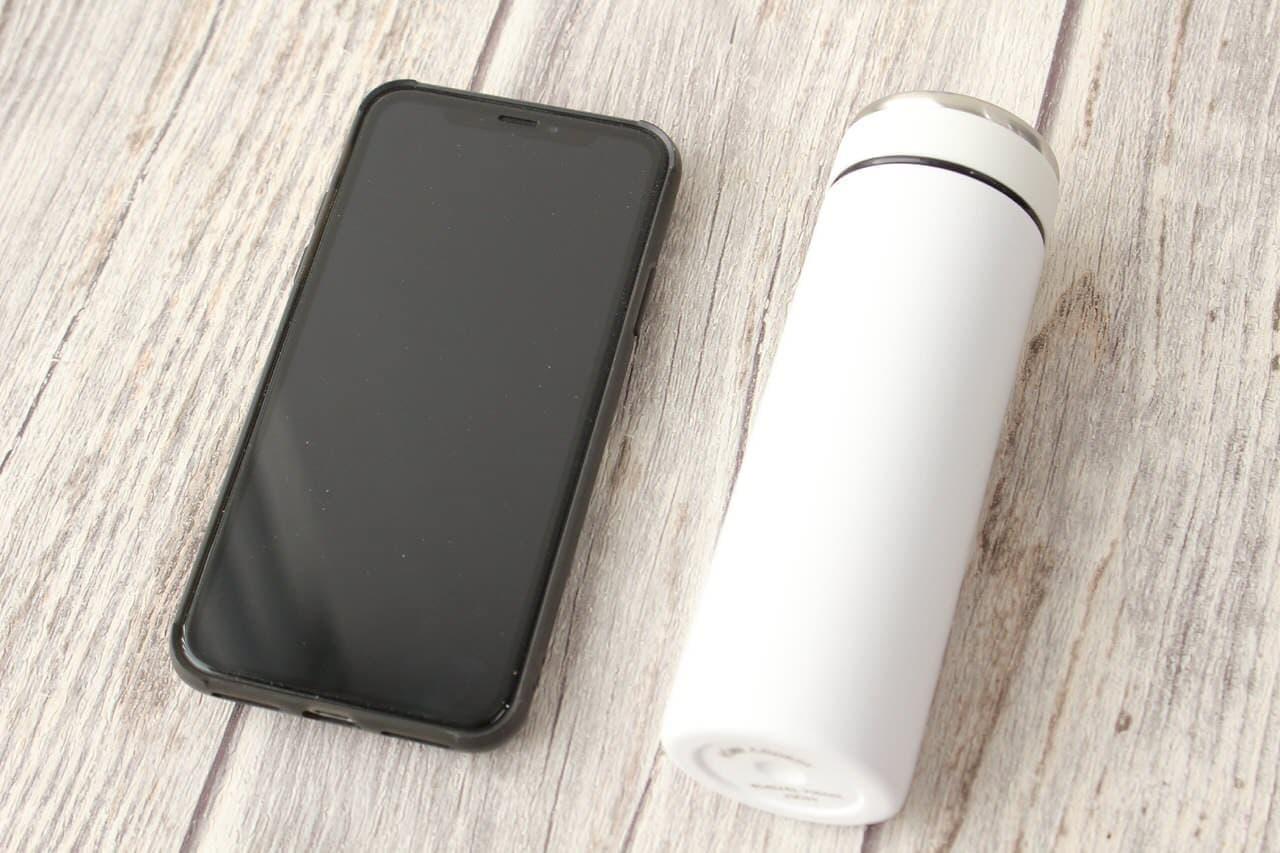 容量120ml、軽量で携帯に便利なイオンの水筒「スリムマグボトル」