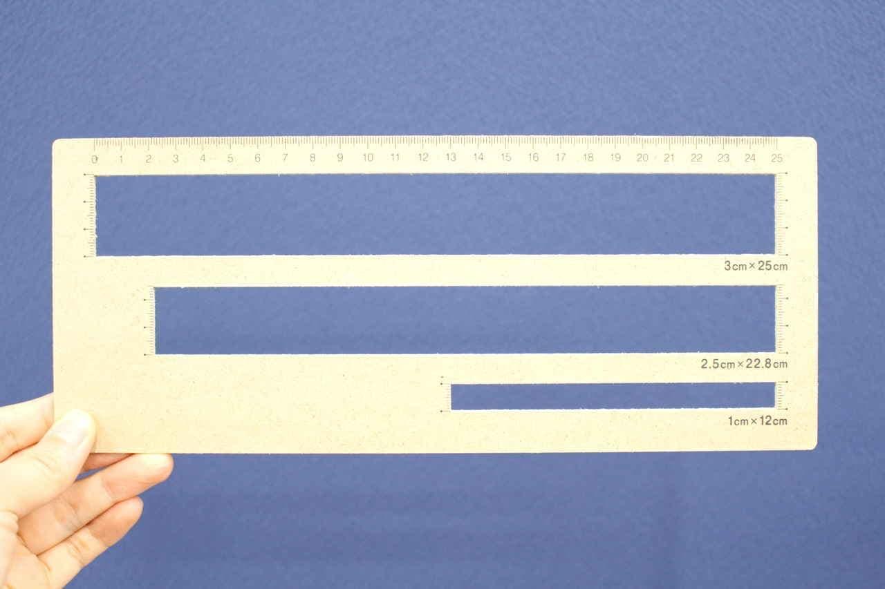 キャンドゥ厚さ測定定規