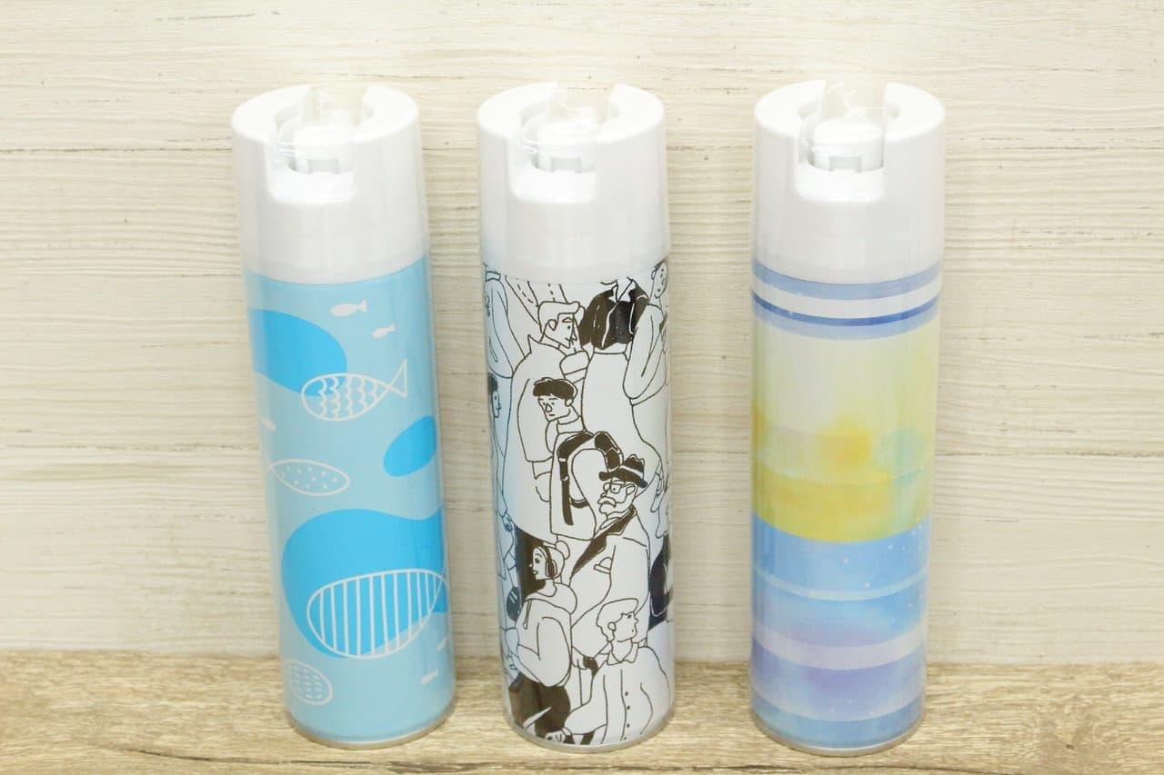 女子美術大学の学生がデザインした消臭力トイレ用のデザインセレクションシリーズ