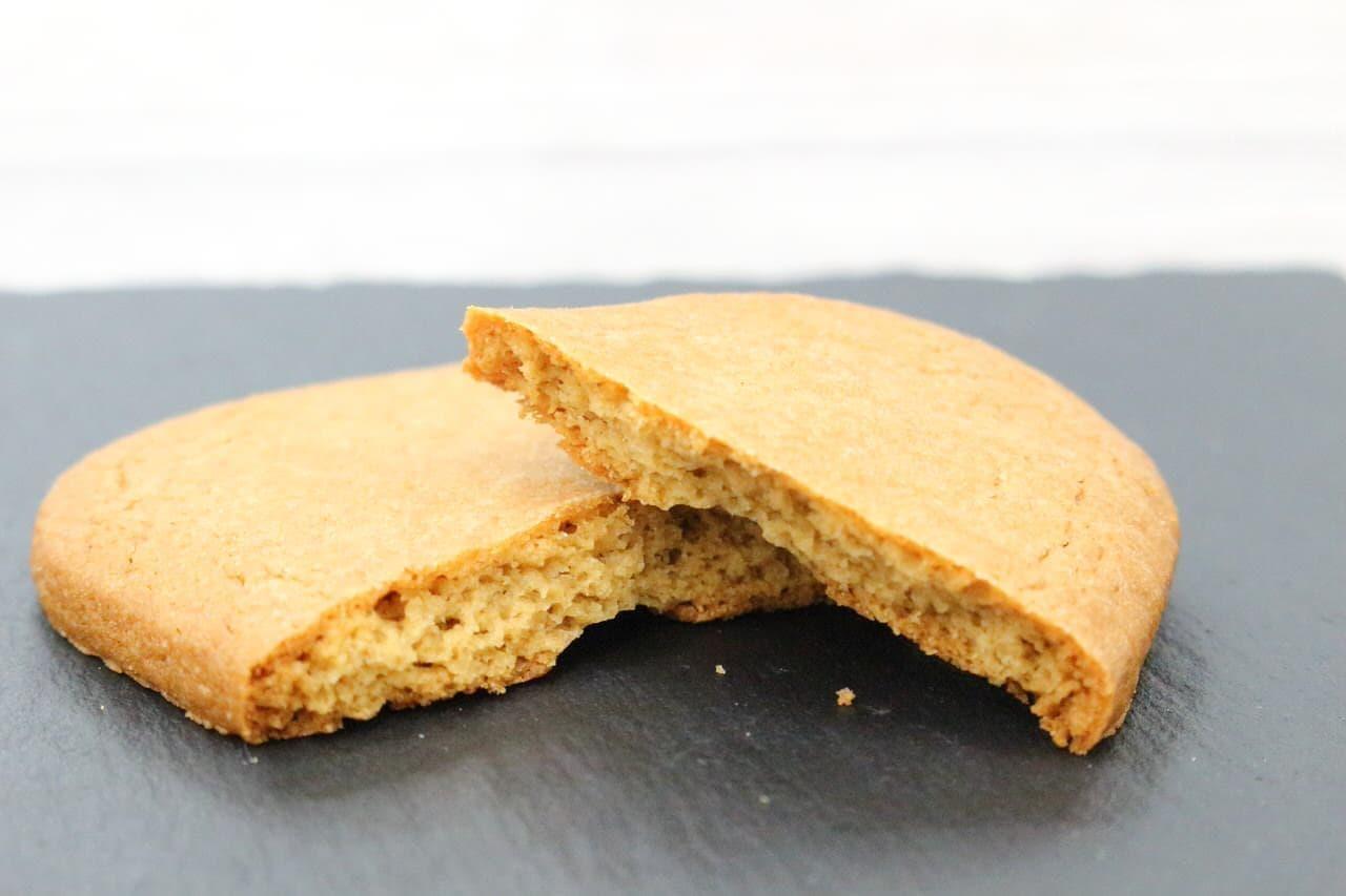 鳩サブレーのような東京ひよ子のクッキー「カフェオレサブレ」