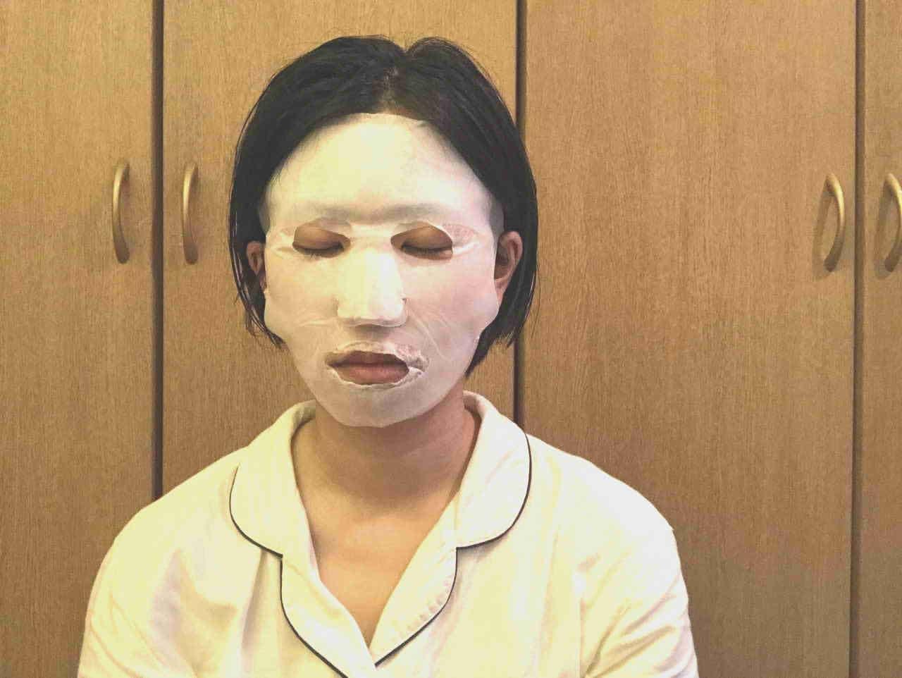 ダイソーうるおいマスク