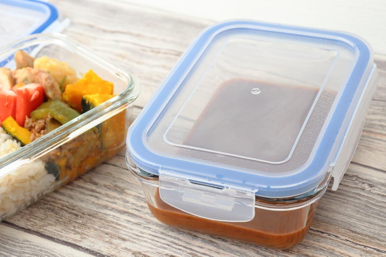 300円以下で買える!ニトリの耐熱ガラス保存容器はカレーや作り置きにぴったり--レンジとオーブン両方OK、そのまま食卓にも