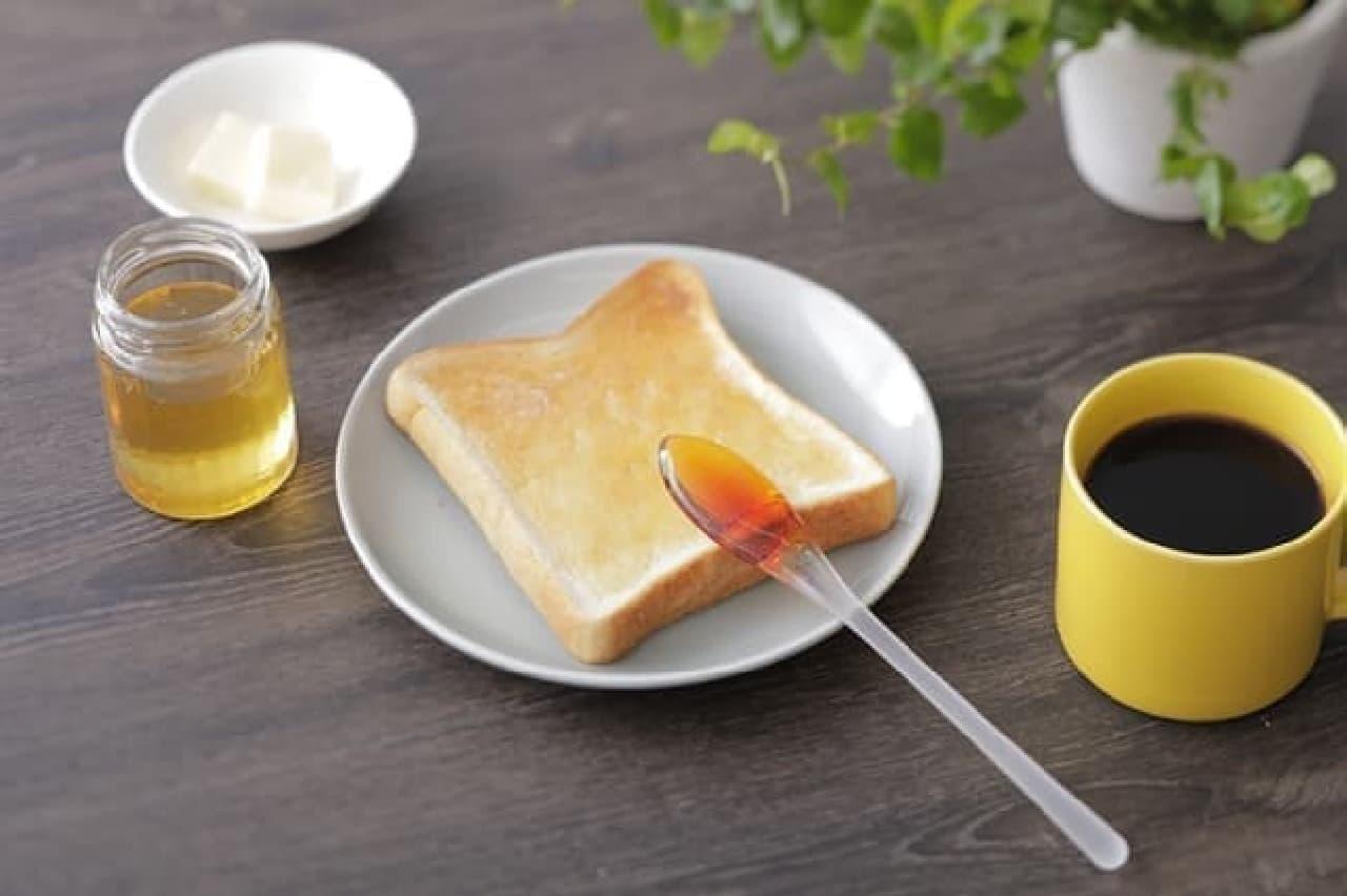 マーナのハチミツ用スプーン、Bee happy はちみつディッパー
