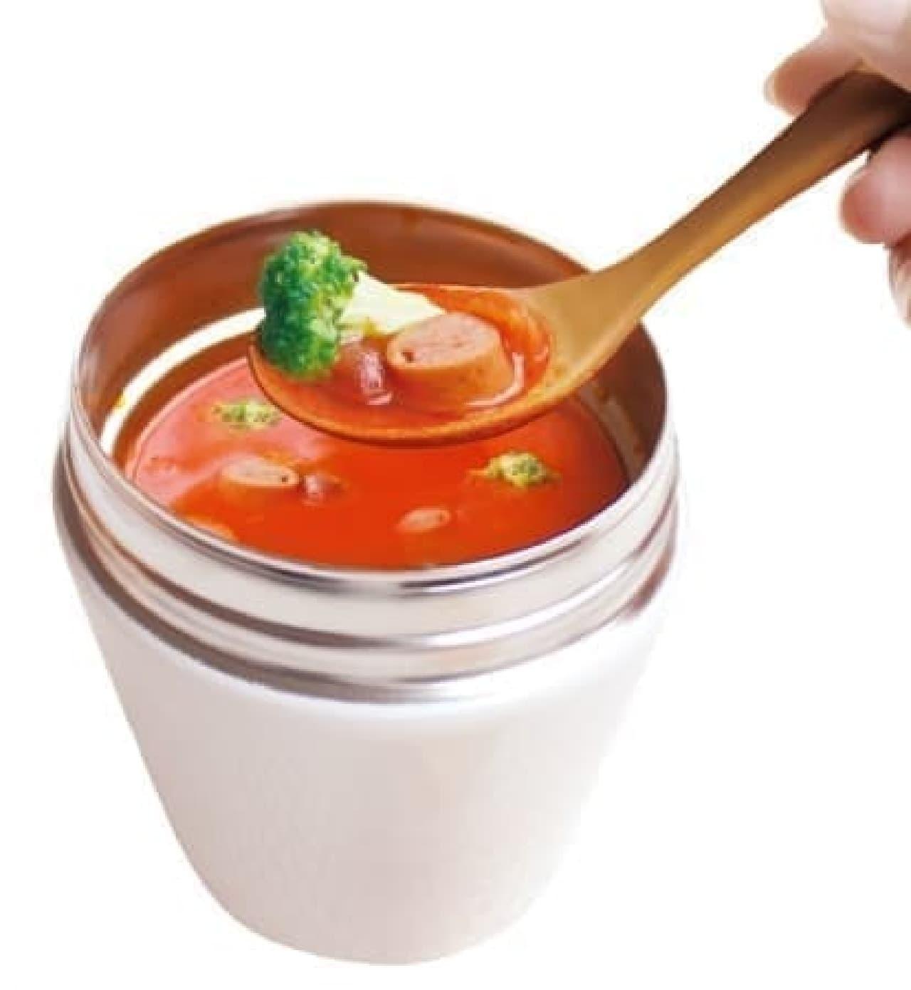 スープジャーのためのランチスプーン ロング