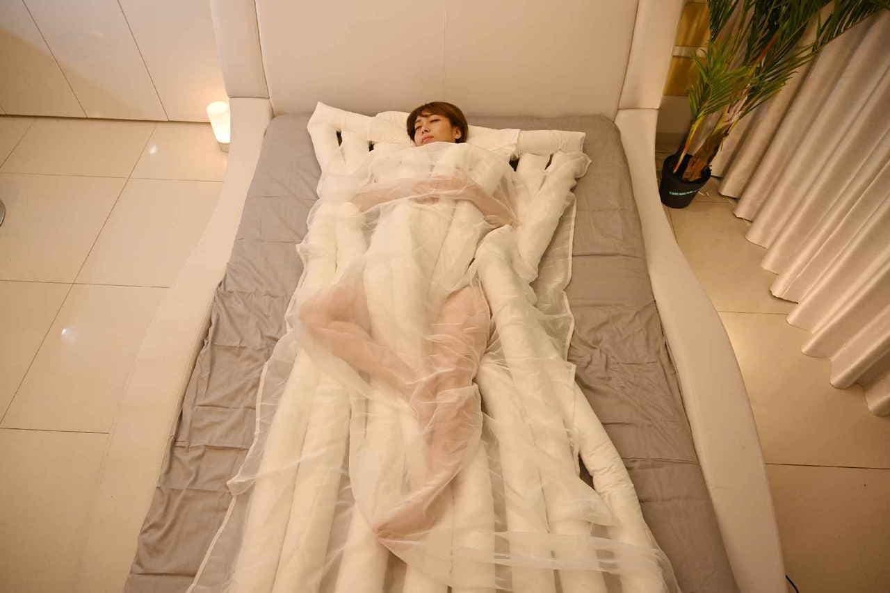 世界初睡眠用うどん