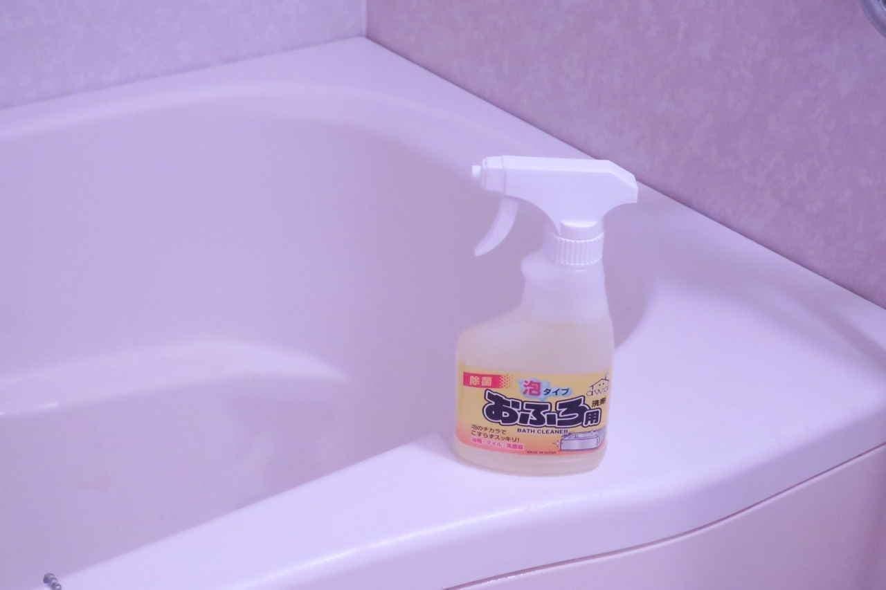 100均おふろ用洗剤