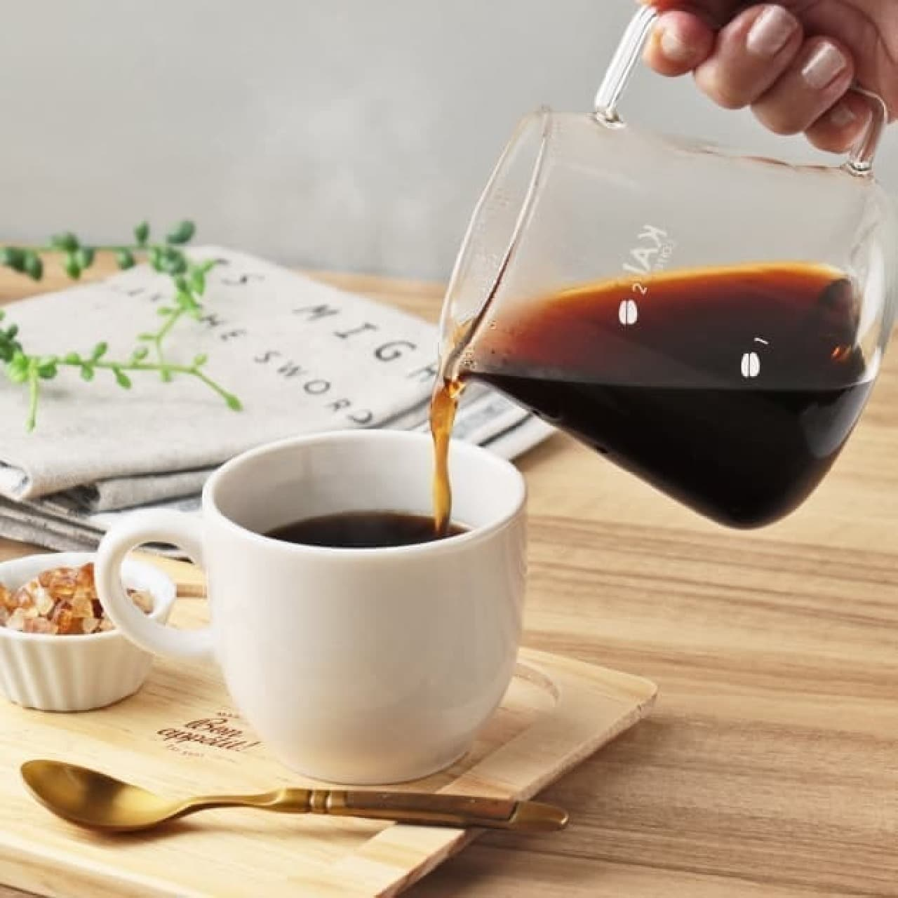 カルディからコーヒー豆と便利なフィルターケースのセット