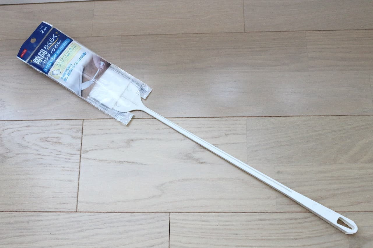 """汚れやすい家具や家電、水まわりの""""すき間""""に--100均の便利な掃除グッズ3つ"""