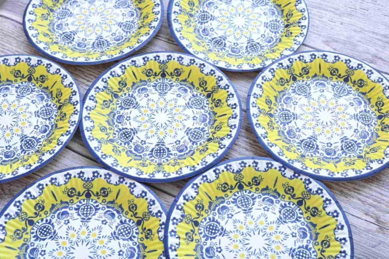 セリア おしゃれな紙皿