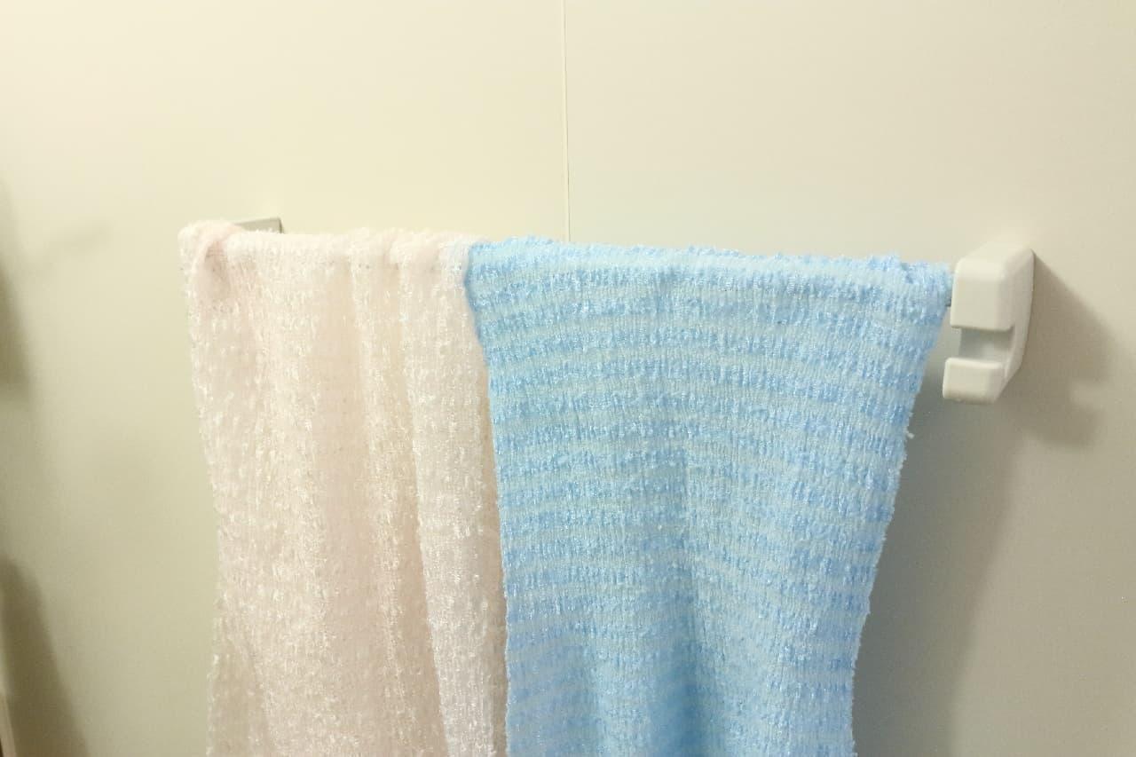 タオルやボトル、掃除用具も♪風呂の収納がどんどん増える100均のハンガー&ホルダーシリーズ