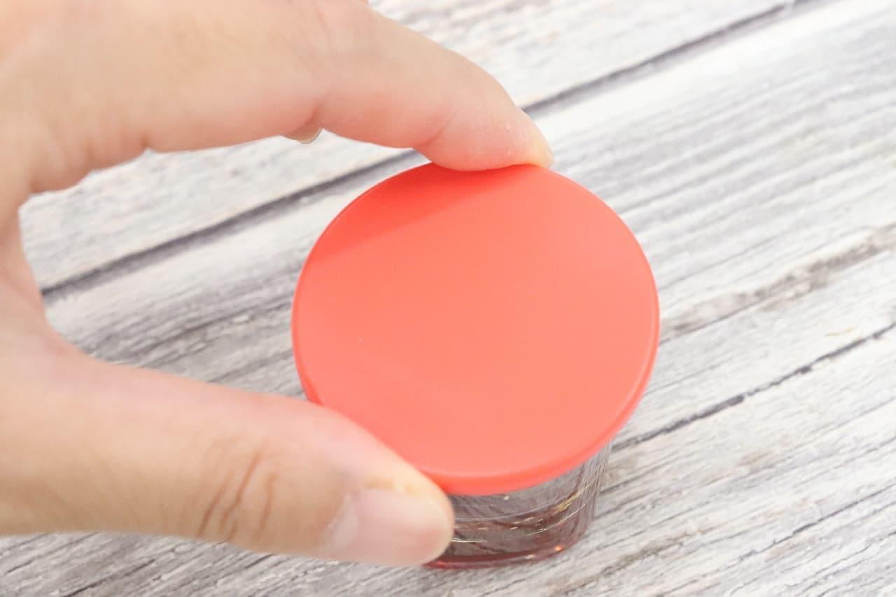 使いきりサイズの手作りドレッシングに便利なマーナのマイドレッシングカップ