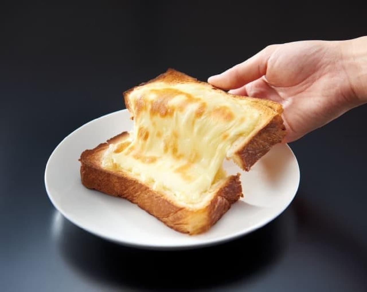 耳までおいしいトーストに--濡らして入れるだけ、チーズも絶妙にとろける「スチームトーストメーカー」