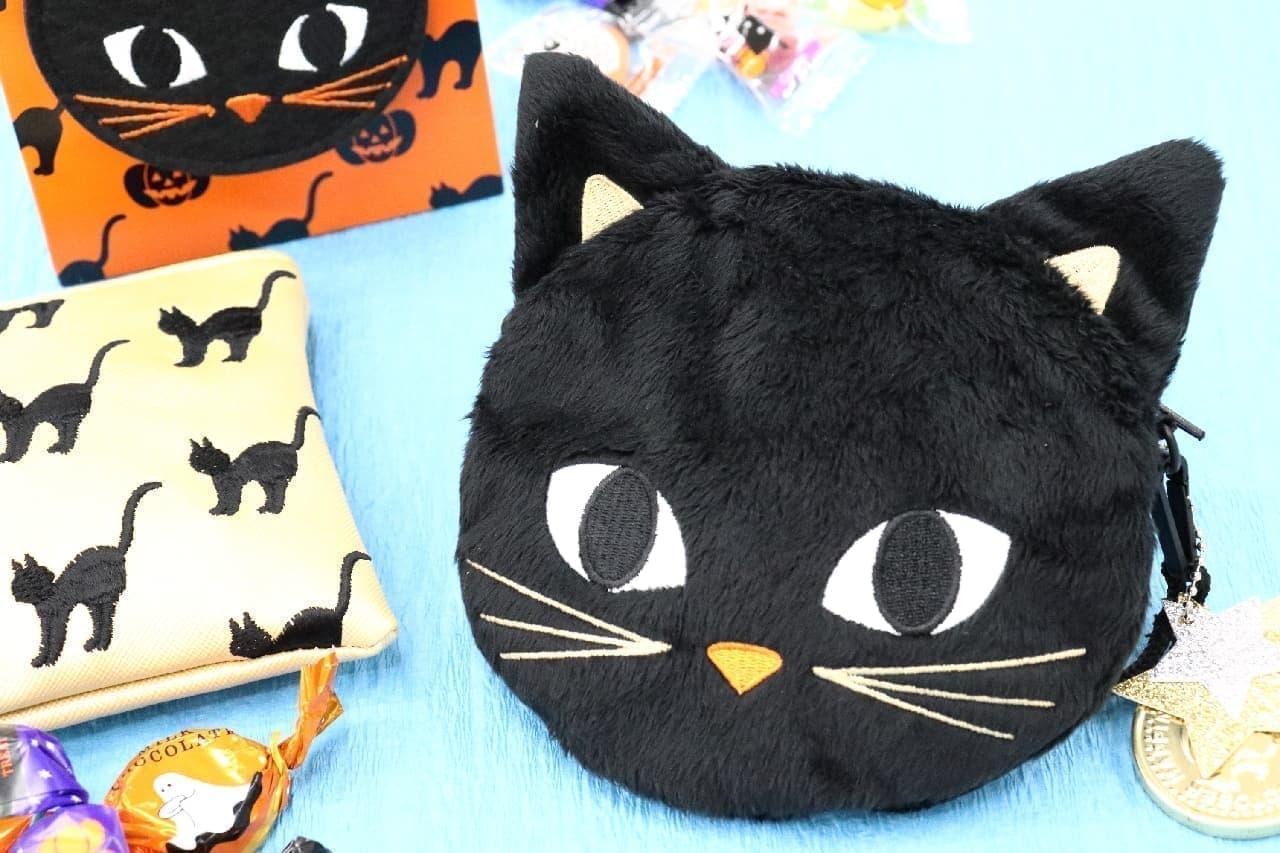 大人可愛い黒猫のデザイン♪ 便利なポーチがついたモロゾフのハロウィンスイーツ