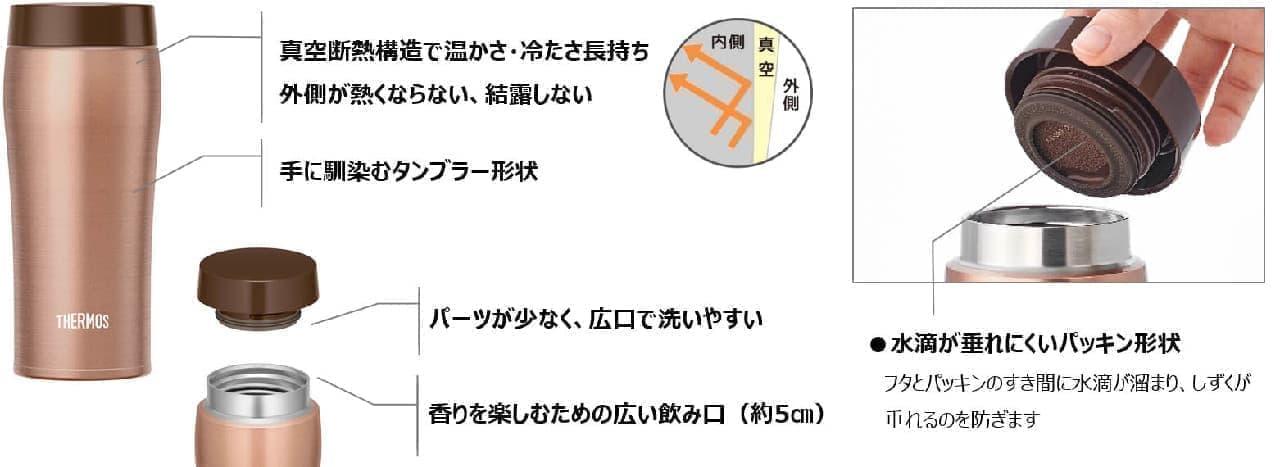 真空断熱ケータイタンブラー JOE-360/480