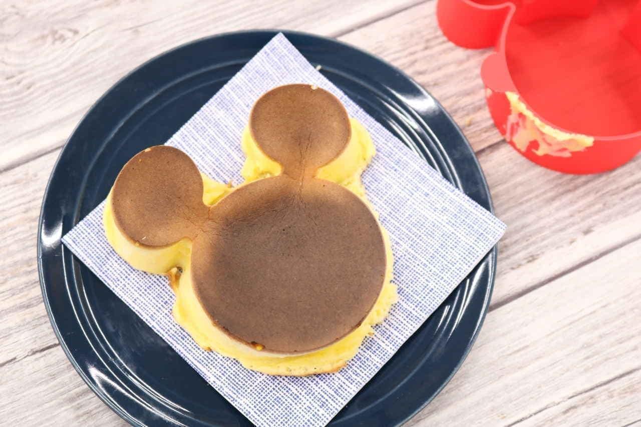 ミッキーのケーキ型