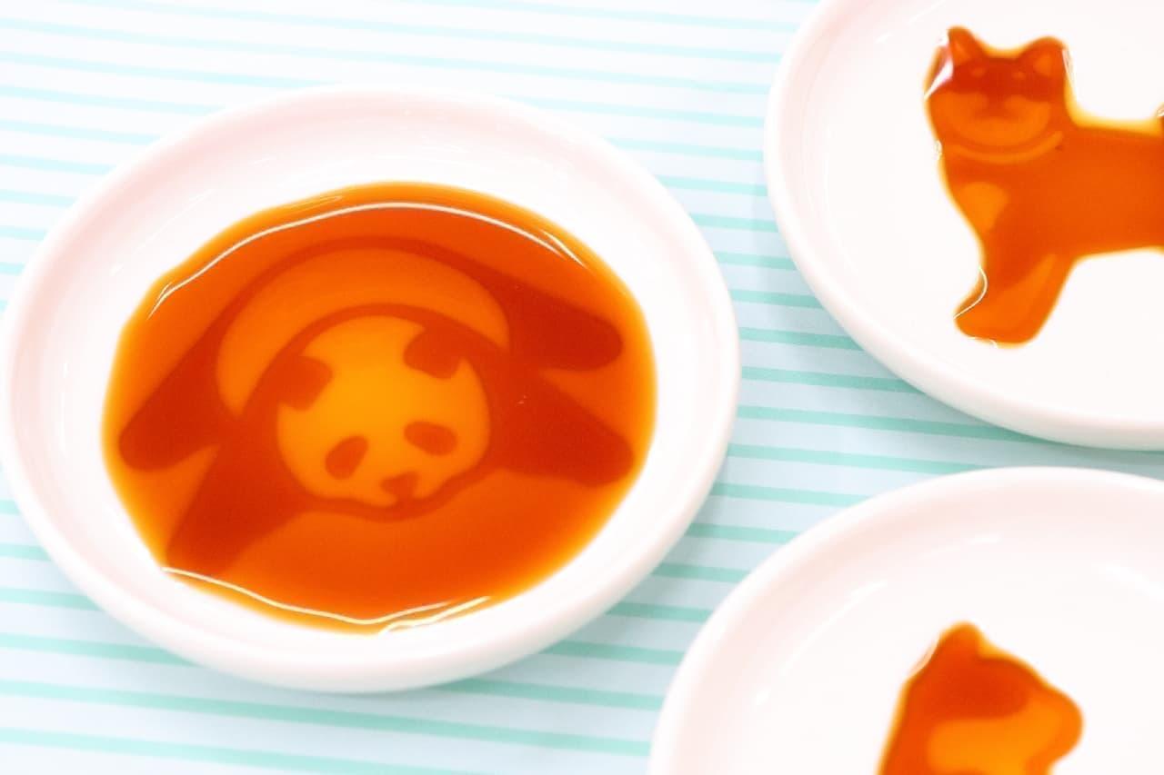 パンダやイヌが浮き出る♪Afternoon Tea LIVINGで見つけた可愛いしょうゆ皿