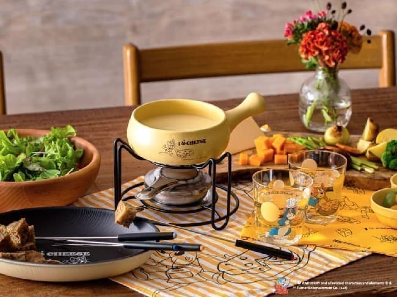 【可愛い】トムとジェリーが「212 KITCHEN STORE」とコラボ--チーズフォンデュの鍋やグラタン皿など