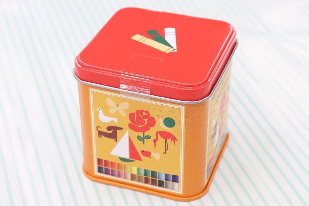 大阪や京都土産に♪サクラクレパスの可愛いお菓子--イラスト付きクッキーやグミなど、缶や箱はコレクションに