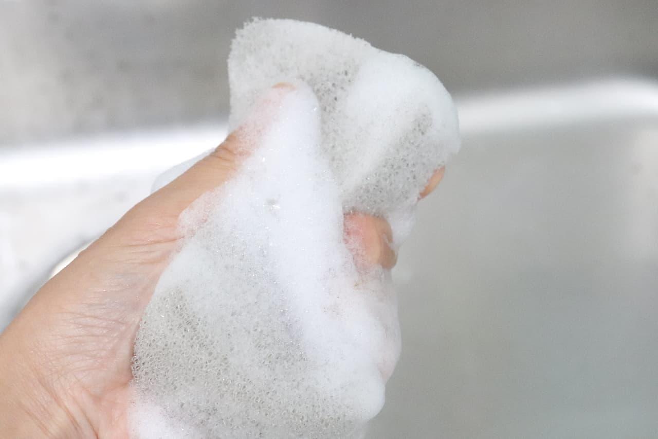 食器洗い用の「亀の子スポンジ」--銀イオンで高い抗菌効果、使いやすさも抜群