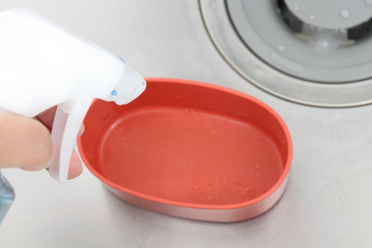 食器に直接スプレーして使うジョイ ミラクル・クリーン泡スプレー
