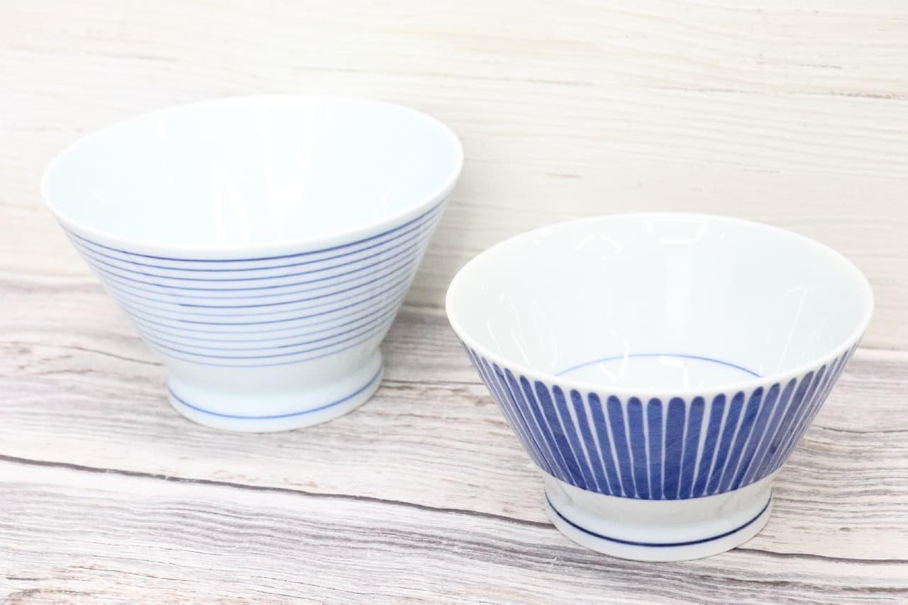 無印のステキなご飯茶碗「くらわんか飯碗」--美しい波佐見焼、安定感も抜群