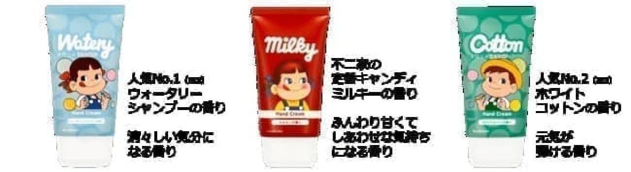 ミルキーの香りのハンドクリーム