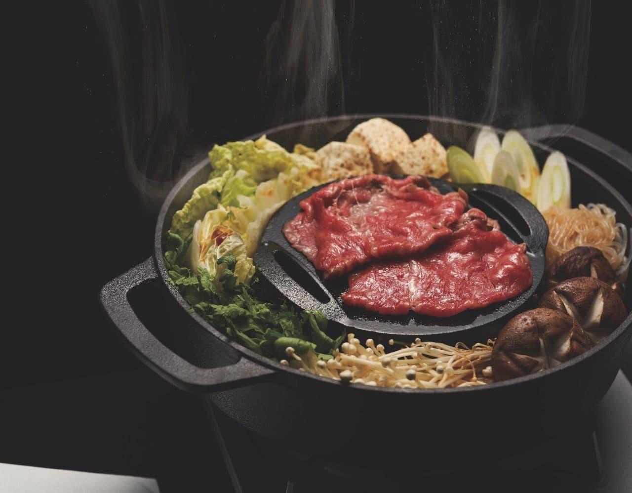 ジューシー焼きすき鍋