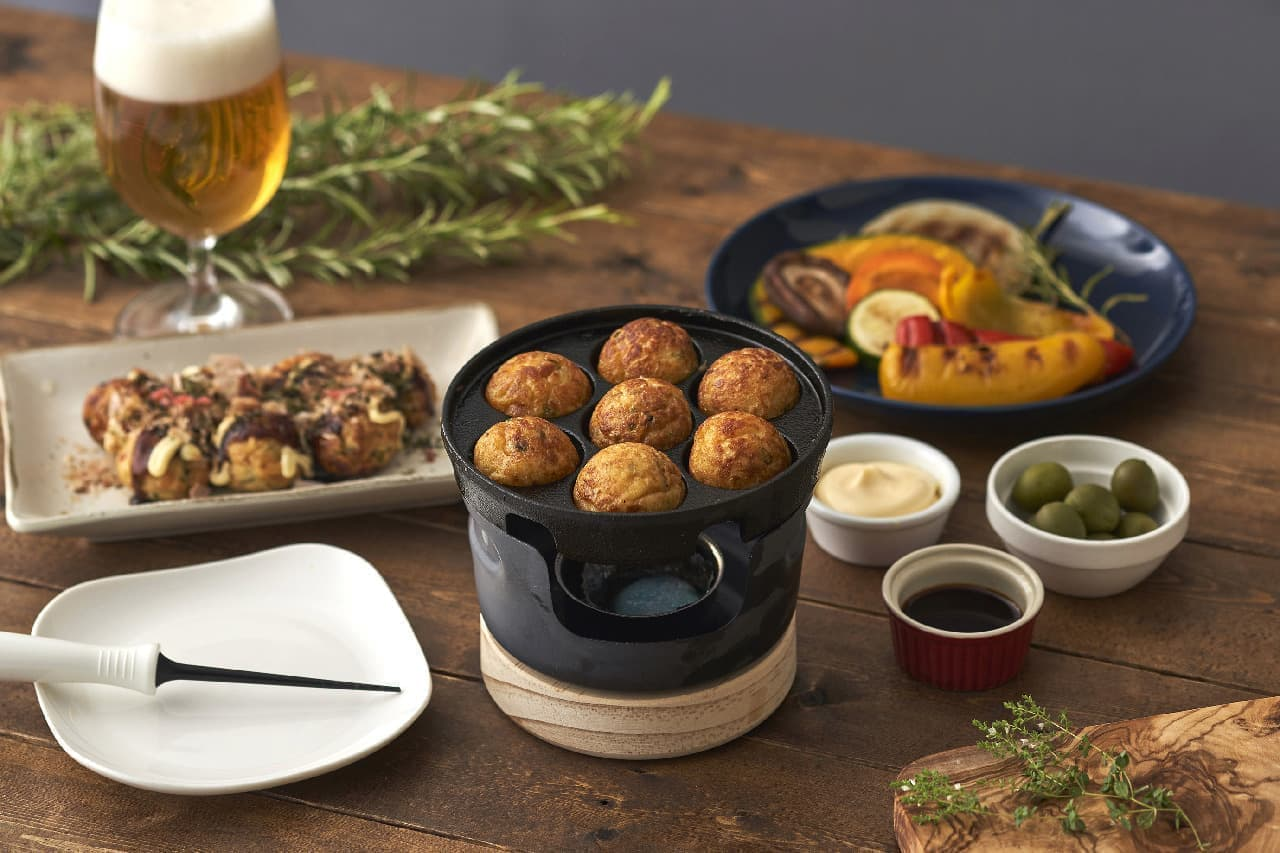 晩酌の手作りにちょうど良い♪コンパクトなたこ焼きプレートや鉄鍋