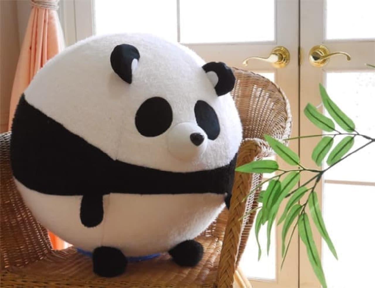 大きなパンダやネコに変身--バランスボールの可愛いカバーがヴィレヴァンに